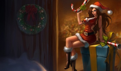 candy Cane - Miss Fortune